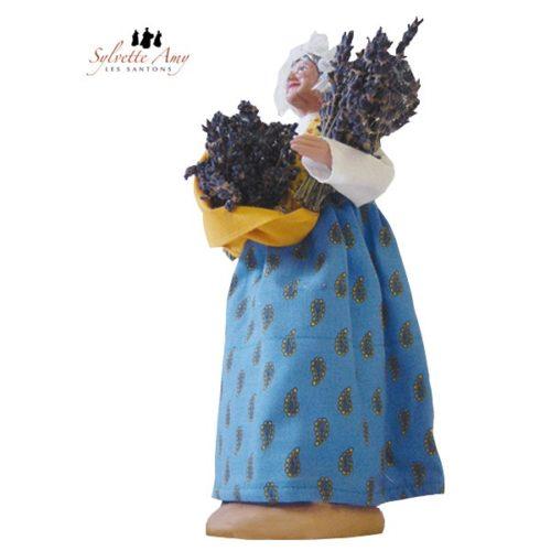 La femme aux deux bouquets de lavande