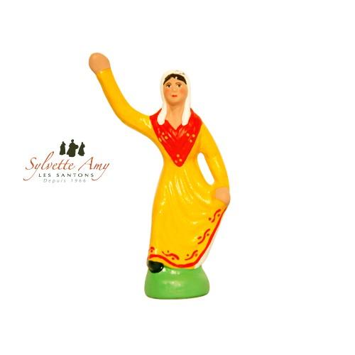 Danseuse jaune