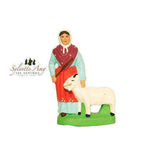 Femme a la chèvre