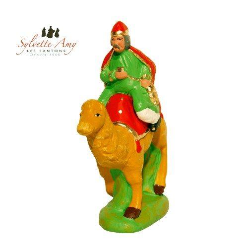 Roi rouge sur chameau