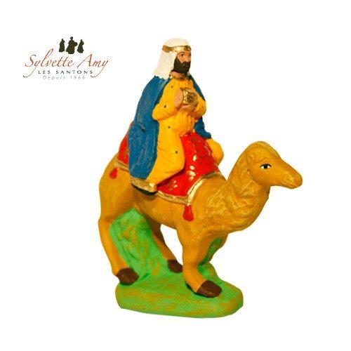 Roi bleu sur chameau
