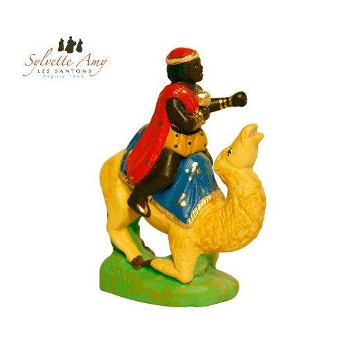 Roi noir sur chameau