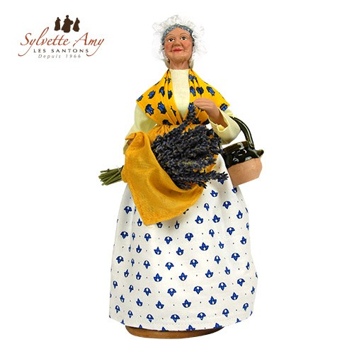 La femme à la lavande et à la cruche