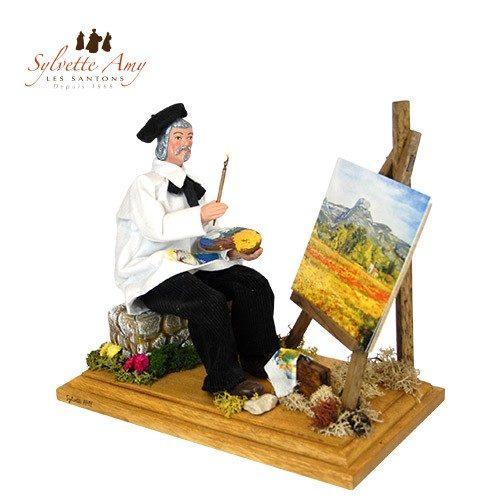 Le peintre assis
