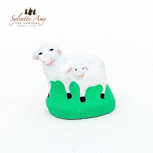 La brebis et son agneau